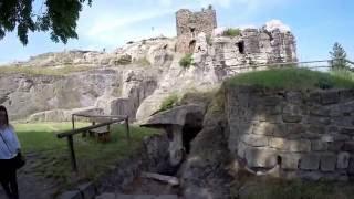 Die Burg Regenstein bei Blankenburg im Harz