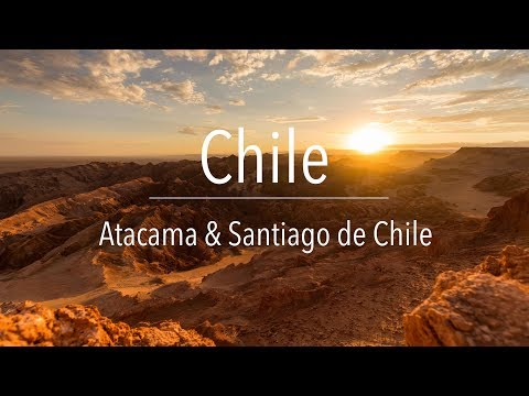 A sneak peek of CHILE | Atacama & Santiago | Travel Journal #4