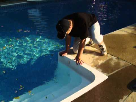 How To Winterize Swimming Pool Step Jets YouTube