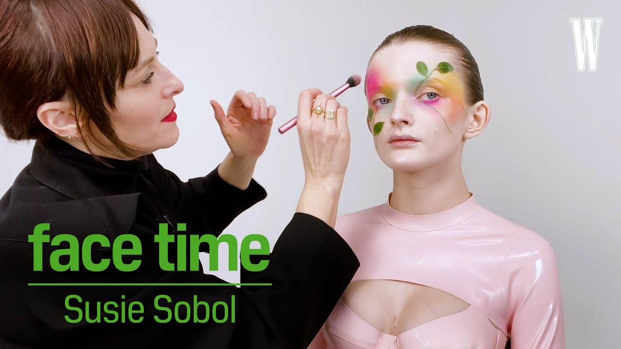 Face Time: How To Do Dramatic Floral Makeup With Susie Sobol | W Magazine