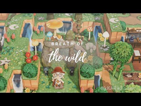 Legend of Zelda Island Tour | Animal Crossing: New Horizons