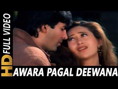 Awara Pagal Deewana Duniya Se Ub Gaya | Alka Yagnik, Kumar Sanu | Lahoo Ke Do Rang Songs | Akshay