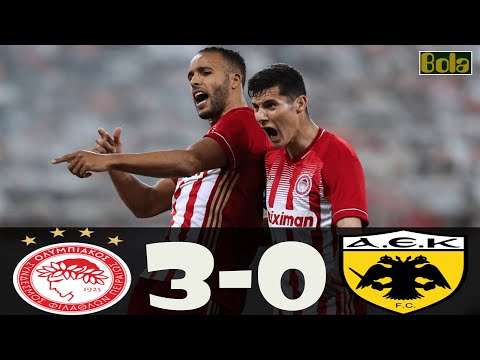 Ολυμπιακός - ΑΕΚ 3-0 Στιγμιότυπα 3.01.2020