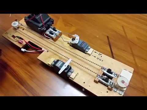 Its Alive!! Vintage 70's RC Sailboat Sail Winch System by Royal RC