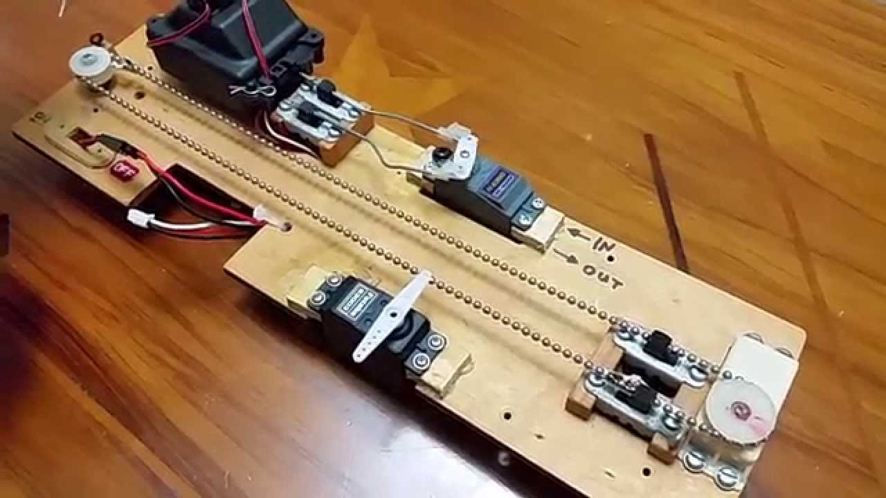 Its Alive!! Vintage 70's RC Sailboat Sail Winch System by ...