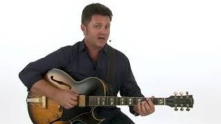 ????Jazz Blues Guitar Lesson - Modal Waltz: Three Rhythm Ideas Demo - James Hogan