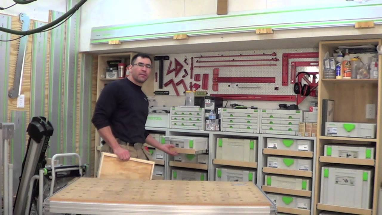 Making Festool Sys Ports Youtube
