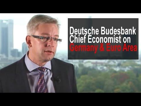 Deutsche Bundesbank's Chief Economist on Germany & Euro Area - real economy