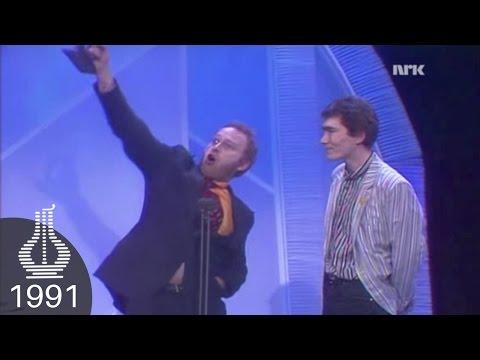 Jokke & Valentinerne vinner Årets Rock (Spellemannprisen 1991)
