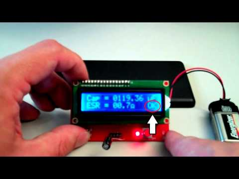 Low cost ESR Meter review
