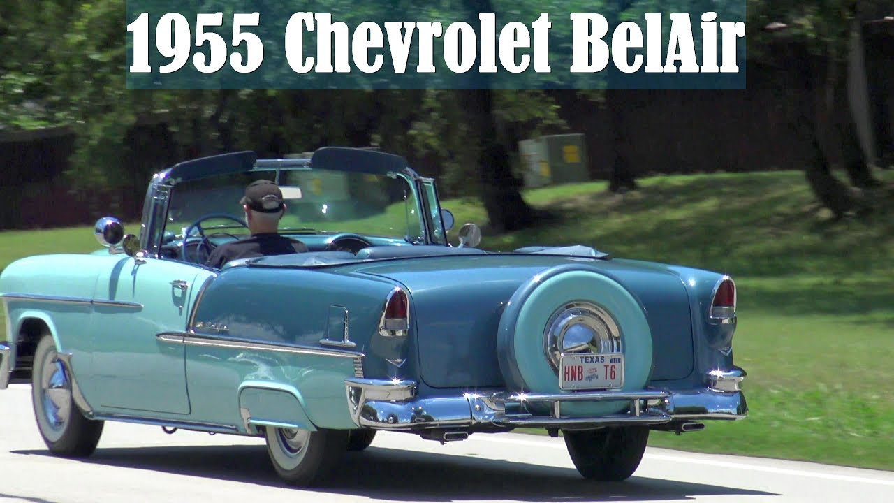 Power Stop Brakes >> 1955 Chevy BelAir Convertible retro video - YouTube