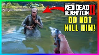 DO NOT Kill The Mad Preacher In Red Dead Redemption 2 Or Something SPOOKY Will Happen To You! (RDR2)