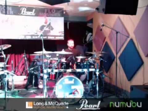 Jason Bittner & Flo Mounier Live Pearl Drums Clinic at Long & McQuade & NuMuBu.com