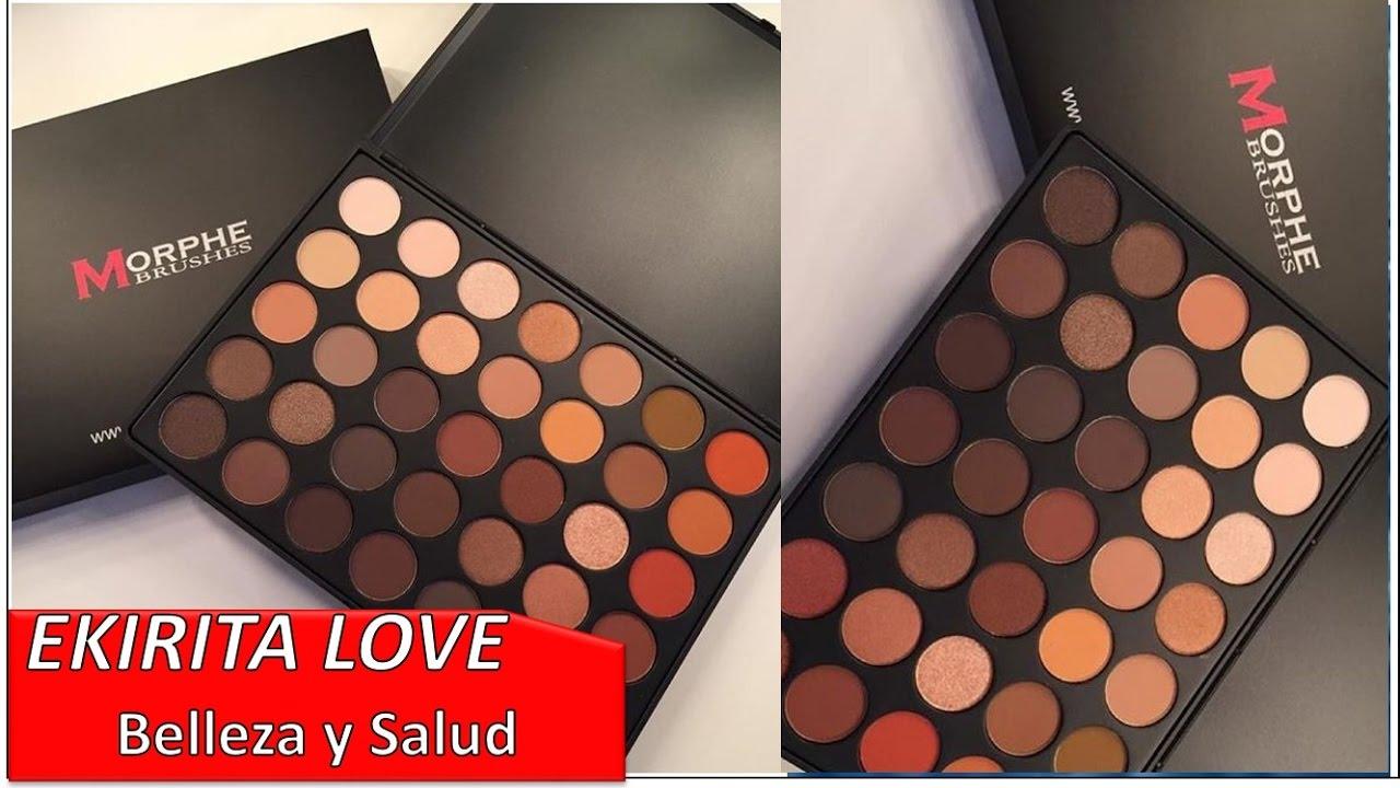 Paleta 35o De Morphe Maquillaje Con Tonos Neutrales Ekirita Love Youtube Alibaba.com offers 502 makeup palette morphe products. paleta 35o de morphe maquillaje con
