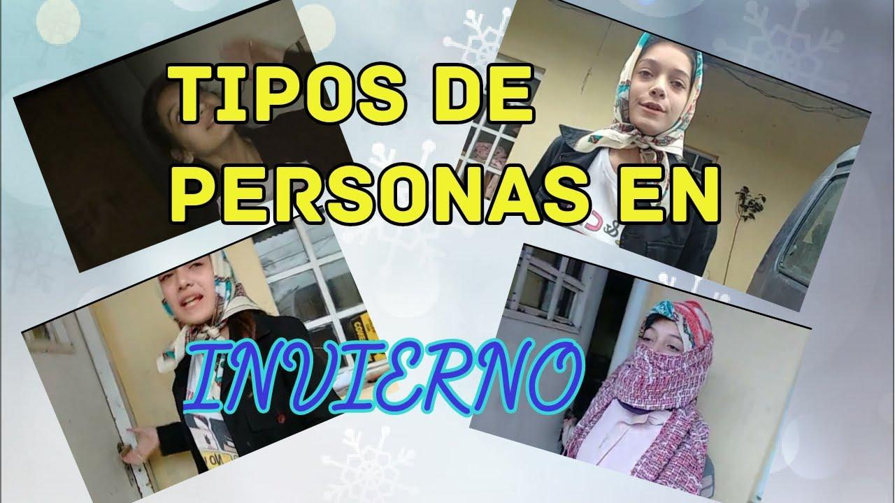 Tipos de personas en invierno barbilandia youtube for Tipos de persas