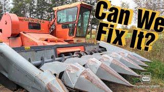 Can We Fix It?  New Idea Uni Harvester Conveyor Repair
