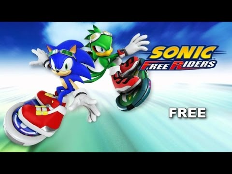 [SONIC KARAOKE] Sonic Free Riders - Free (Chris Madin) [WATCH IN HD]