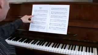 Урок пианино № 74. Разбор композиции Бетховен-Богатель. Сочинение № 53