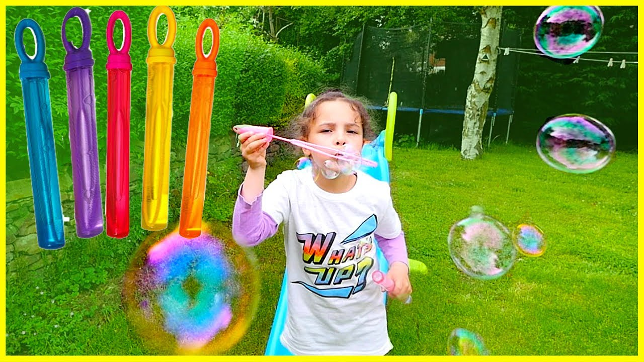 color bubble learn colors with bubbles for kids lear colours with