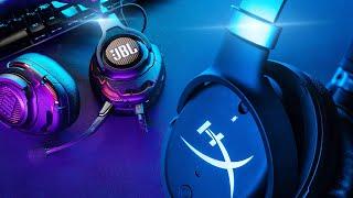 Обзор игровых наушников JBL QUANTUM ONE и HyperX Orbit S: такие разные, но такие похожие...