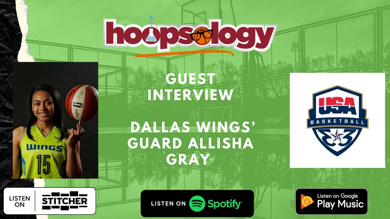 Talking Olympics, the WNBA, and Video Games with Dallas Wings' Guard Allisha Gray