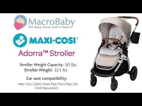 maxi-cosi-adorra---demo-stroller-|-macrobaby