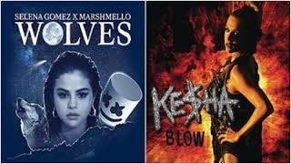 Blow Wolves Selena Gomez, Marshmello vs Ke ha Mashup.mp3