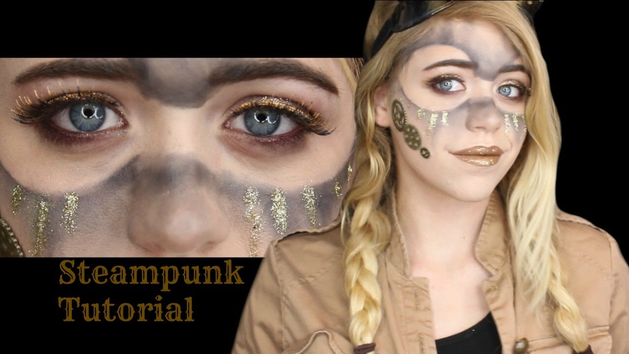 acc98b4d2c3 Steampunk Makeup Tutorial