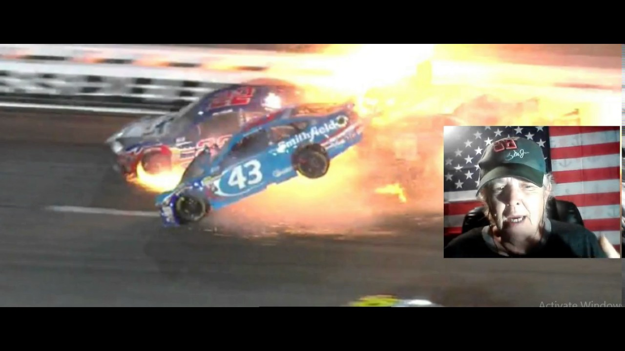 NASCAR driver Aric Almirola has fracture in his back after wreck at Kansas ...