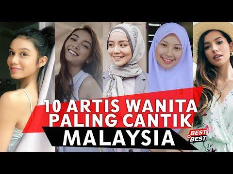TOP 10 ARTIS WANITA CANTIK MALAYSIA 2019