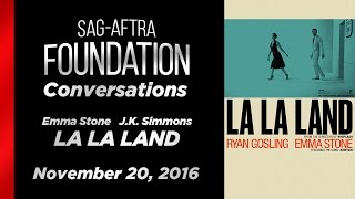Conversations With Emma Stone And J.K. Simmons Of LA LA LAND