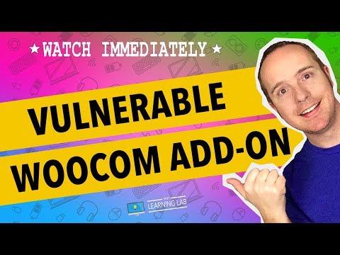 WordPress XSS Vulnerability In WooCommerce Add-on Plugin - 동영상