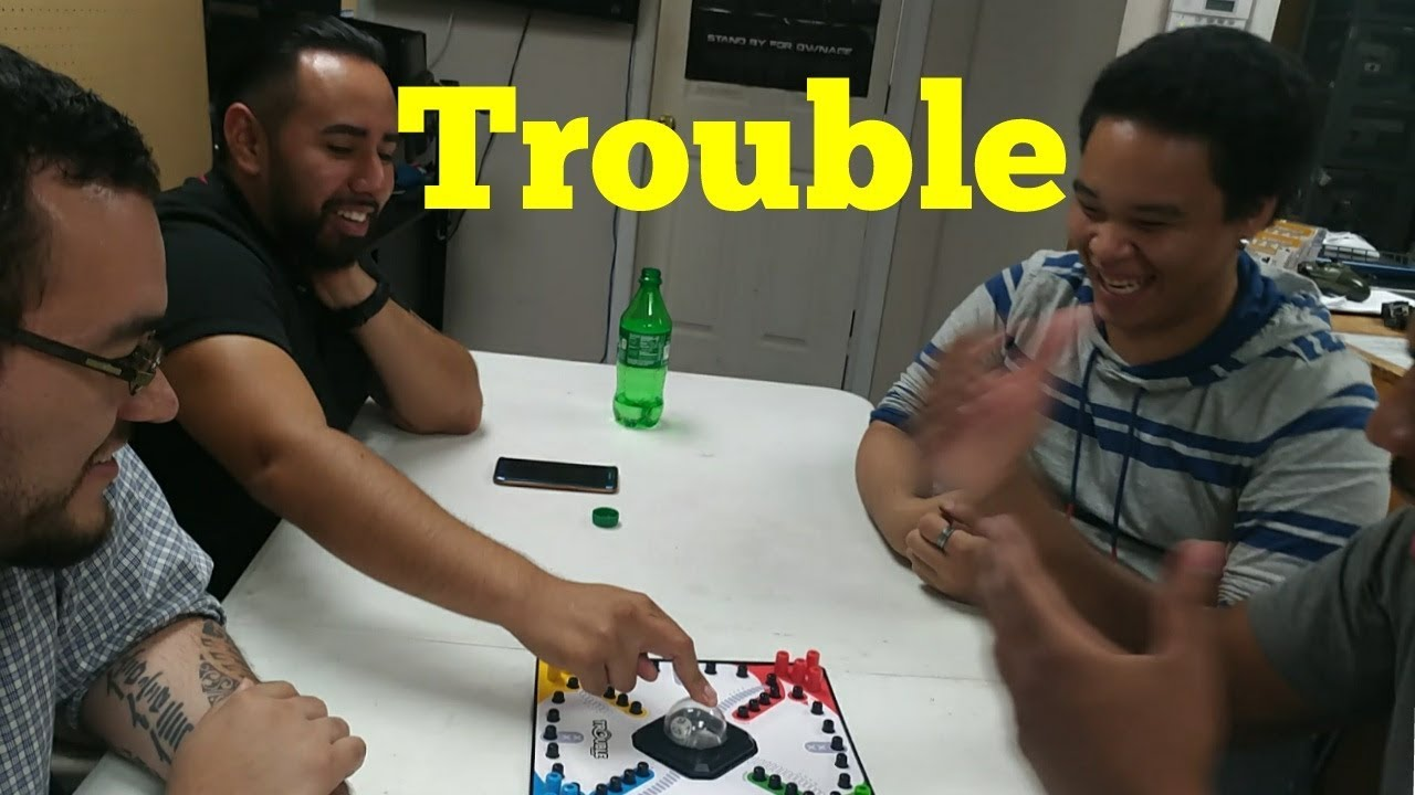 Playing Board Game Trouble With Friends ~Funny Vlog - YouTube
