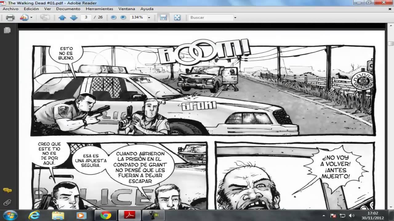 walking dead comics pdf the walking dead comic capitulo 1 espaol pdf youtube