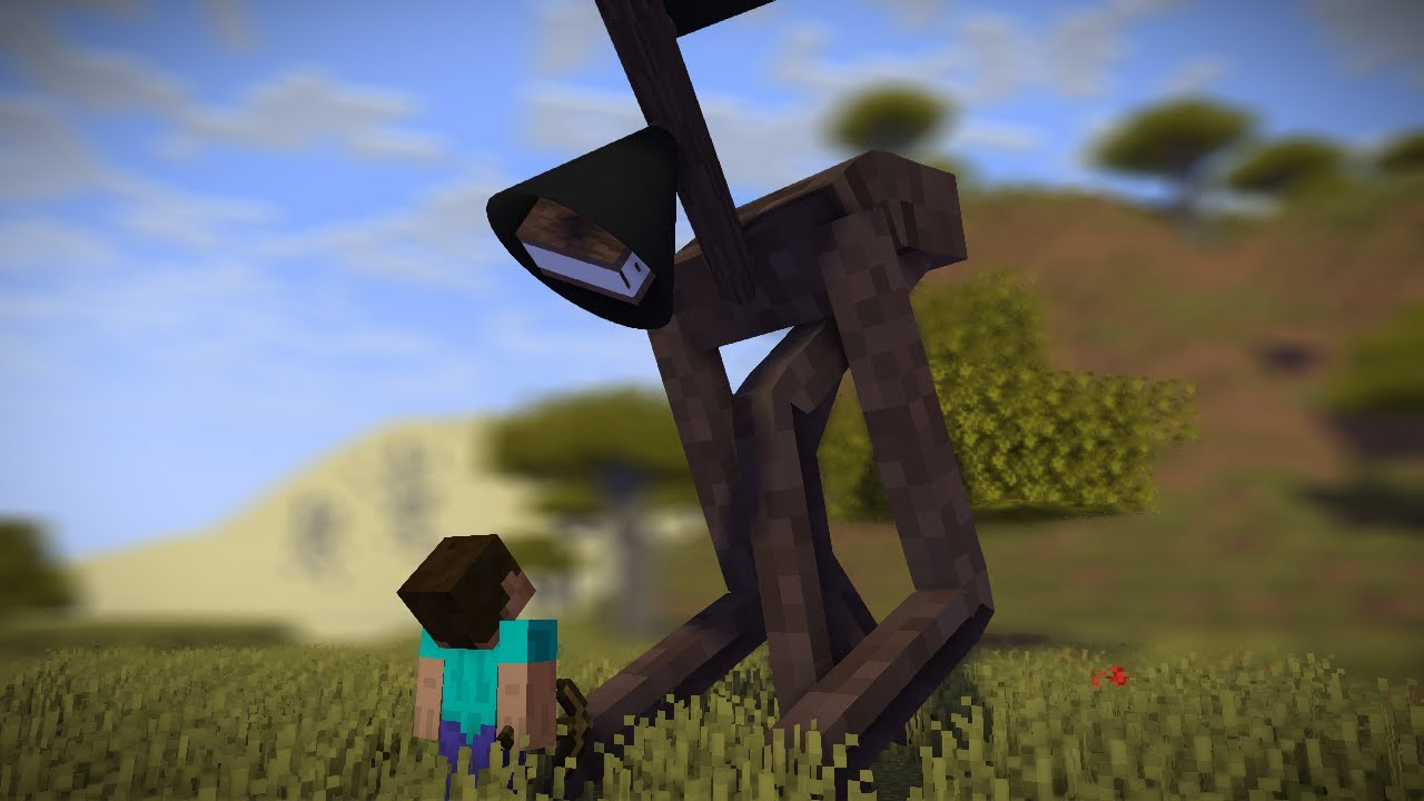 Siren Head suddenly appears on a Steve! || Funny Animation