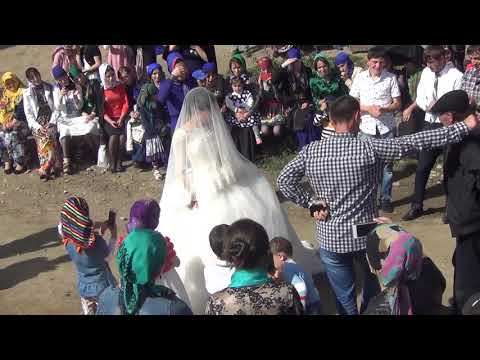 Зажигательная сельская свадьба в Дагестане