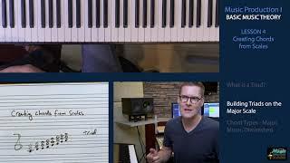 BASIC MUSIC THEORY 4 - Creating Triads