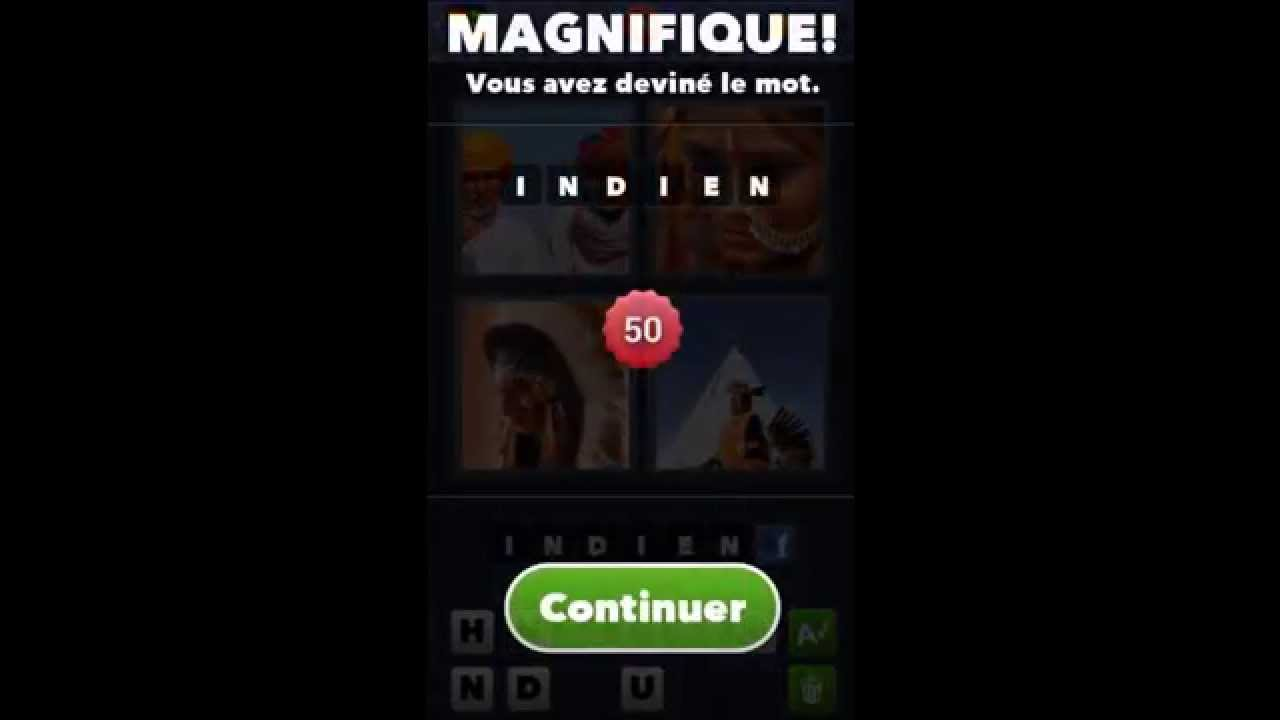 Solution du jeu 4 images 1 mot  de 01 à 50