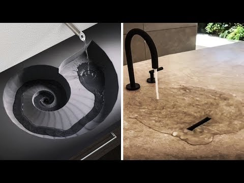 COOL BATHROOM IDEAS AND AMAZING FAUCETS THAT ARE ON A WHOLE NEW LEVEL