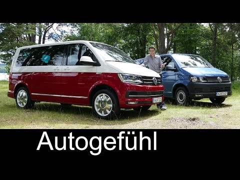 All-new Volkswagen VW Transporter Multivan T6 FULL REVIEW te