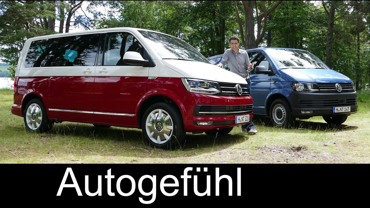 all new volkswagen vw transporter multivan t6 full review. Black Bedroom Furniture Sets. Home Design Ideas