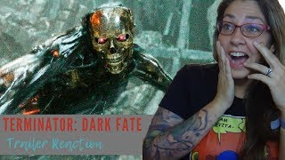 Terminator: Dark Fate Official Trailer REACTION and Review!