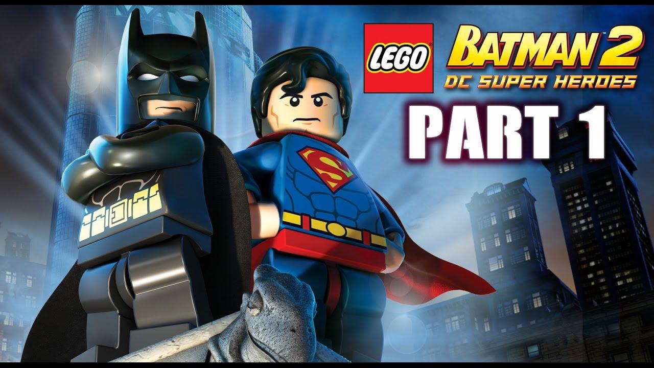 Lego Batman 2 : Walkthrough Part 1 HD Gameplay (No ...