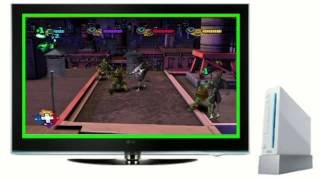 Nickelodeon's Teenage Mutant Ninja Turtles The Game Nintendo Wii: First & Last Look