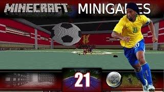 Minecraft - FootBall - ФУТБОЛ В МИНЕКРАФТ! (MiniGame)