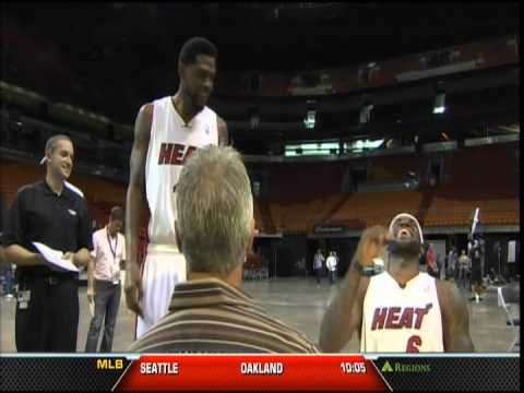 September 28, 2012 - WSVN - 2012 Miami Heat Media Day