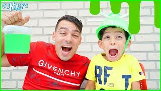 Nickelodeon Slime Soaker Games with Jason