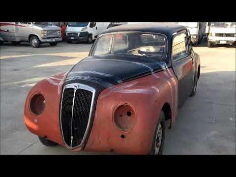 Lancia Aurelia B22 (1953) : Car To Be Restored / FOR SALE
