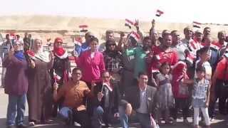 Suez Canal New: A delegation from the school Shaarawy inspects the drilling sites