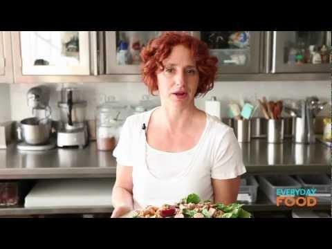 Tuna, Chickpea, and Beet Salad   Everyday Food with Sarah Carey